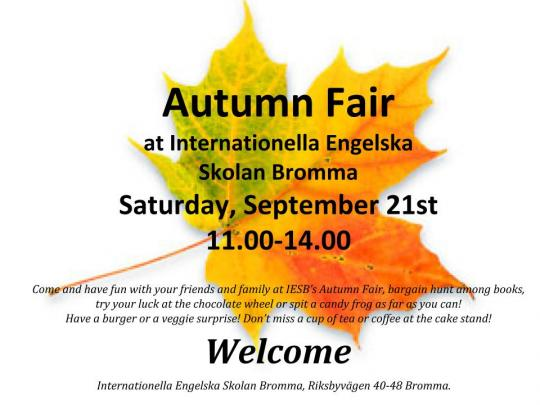 Autumn Fair 2019
